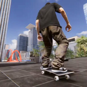 Skater XL ollies out of early access this summer, joined by a few pros